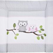 Zöllner pelenkázófeltét baglyos madárkás Little Owls rose