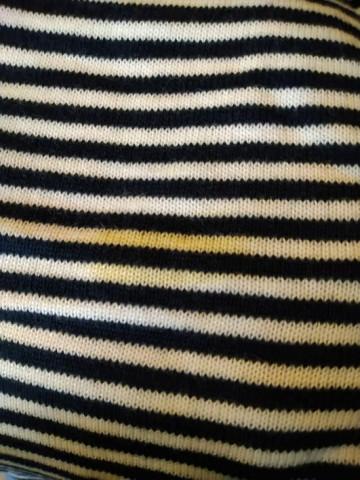 Feetje Raglan kék csíkos kötött vékony pulóver