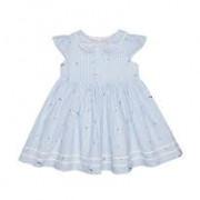 MotherCare kék csíkos nyári kislány ruha