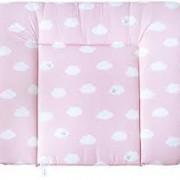 Roba pelenkázófeltét Wolke rózsaszín
