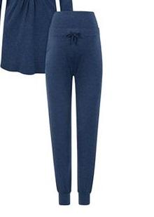Bellybutton kismama pizsama nadrág kék