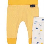 MotherCare sárga csíkos pamut baba nadrág