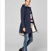 Esprit kék kismama kabát