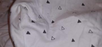 Zöllner szürke mintás Jersey prémium kiságy lepedő