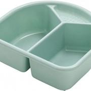 Rotho kétrészes műanyag mosdótál Swedis Green