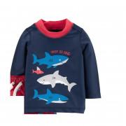 Carter's cápás hosszú ujjú UV szűrős úszópóló