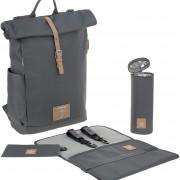 Lässig Rolltop Backpack Anthracite pelenkázó hátizsák