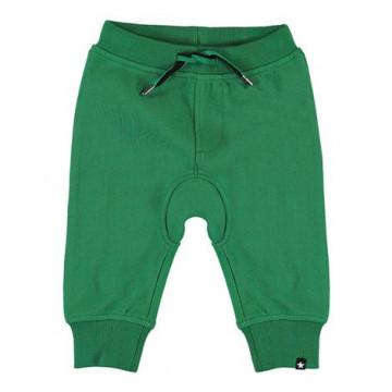 Molo zöld jogginghose pamut babanadrág