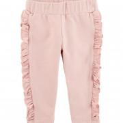 Carters rózsaszín fodros pamut baba nadrág