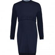 Noppies kék kötött szoptatós / kismama ruha