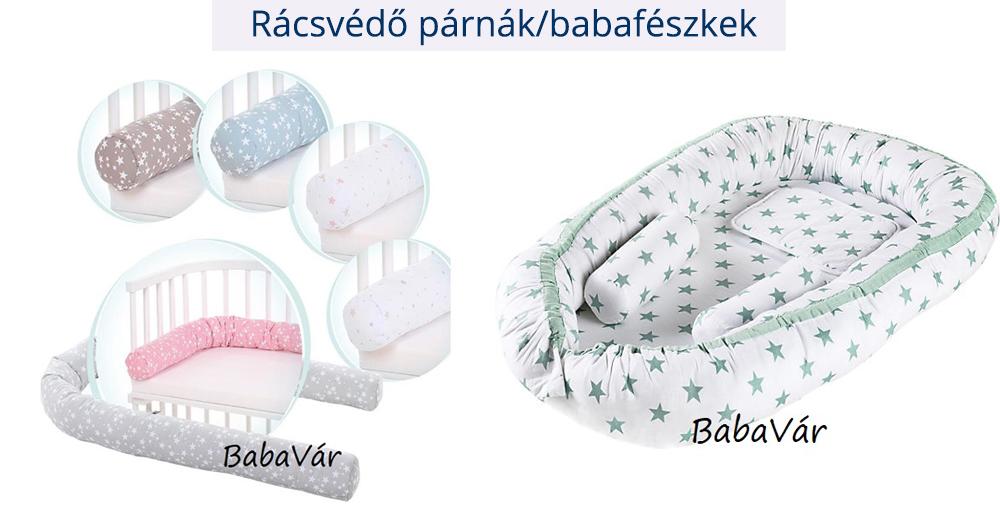 Rácsvédő párnák/babafészkek