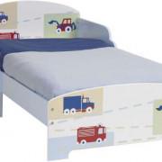 WORLDSAPART autó  mintás fa gyerekágy 70×140