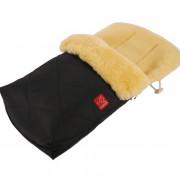 Kaiser Natura báránybőr béléses bundazsák Fekete