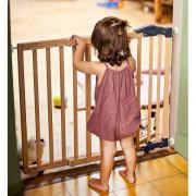 Geuther Wooden Door 2714 68-102cm Natur biztonsági rács / ajtó